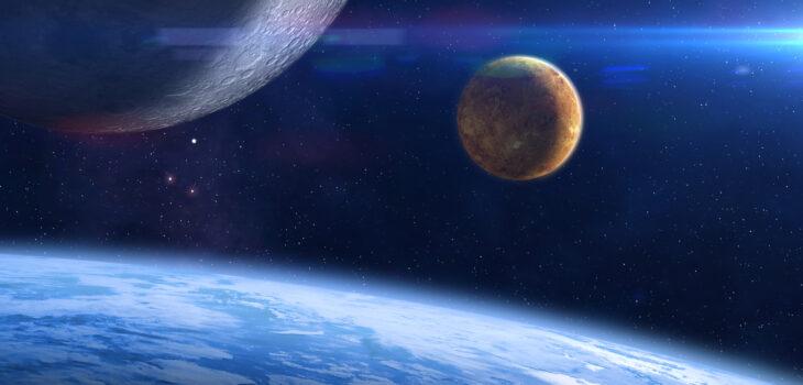 Venus Earth image